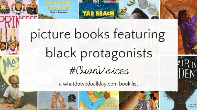 Picture books by black authors
