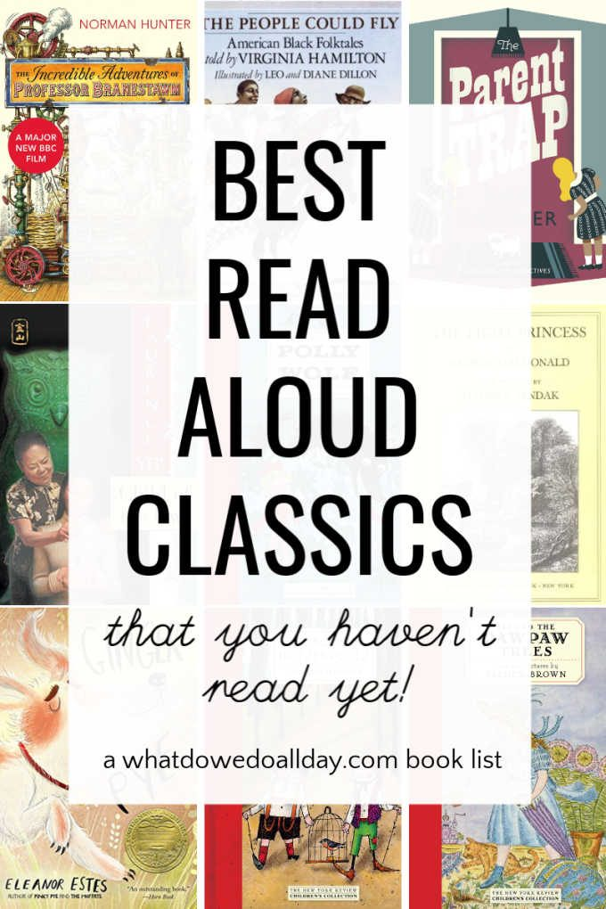 Classic children's books to read aloud
