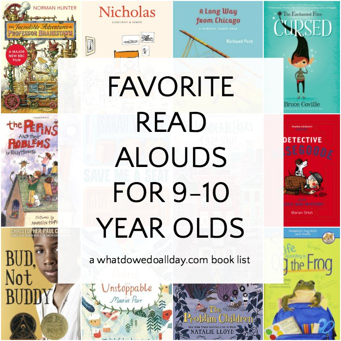 Favorite And Funny Read Aloud Books For 9 10 Year Olds
