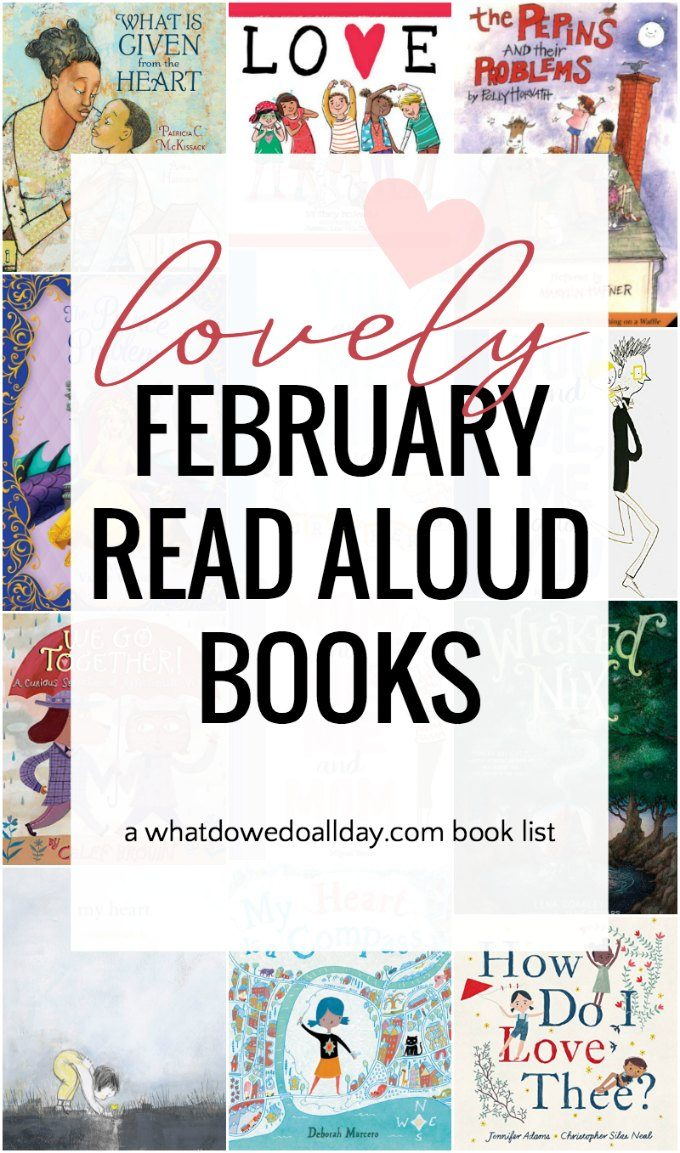 A list of February read aloud books
