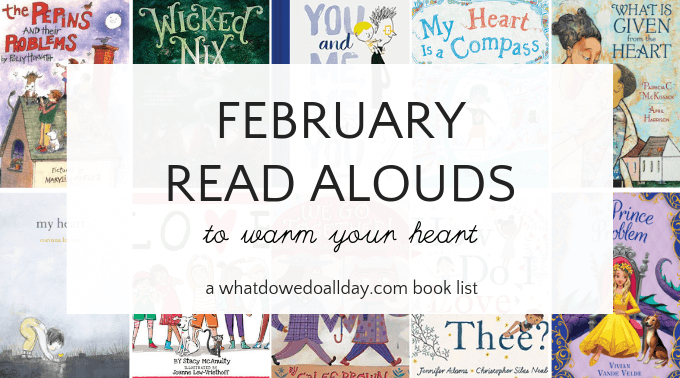 Chidlren's books to read aloud in February