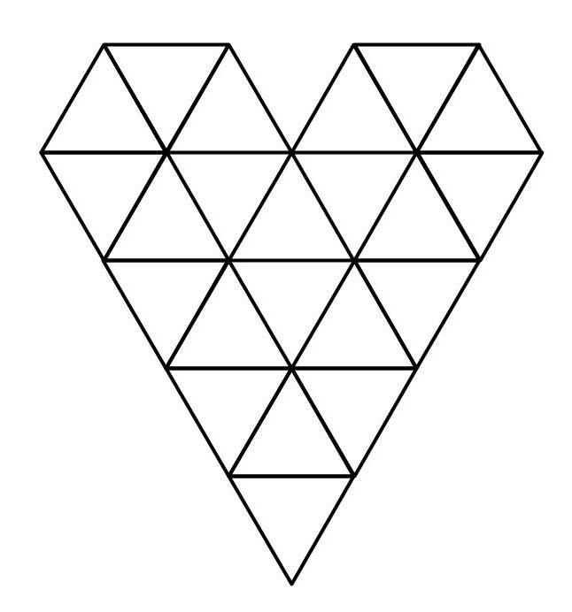 Heart puzzle solution