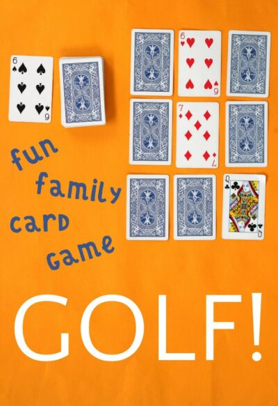 How to play nine hole golf card game for family fun