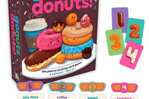 Go nuts for donuts game by gamewright