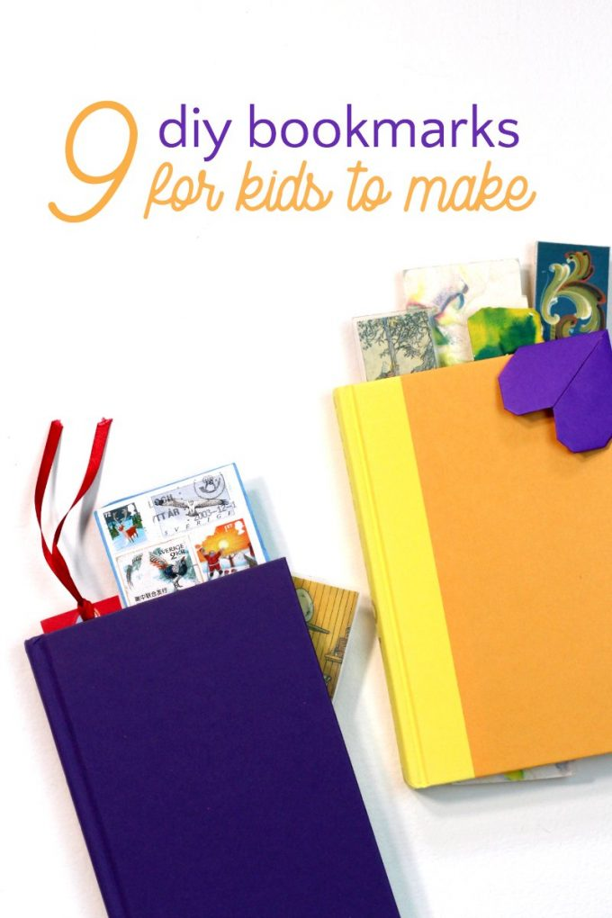 DIY bookmarks for kids to make