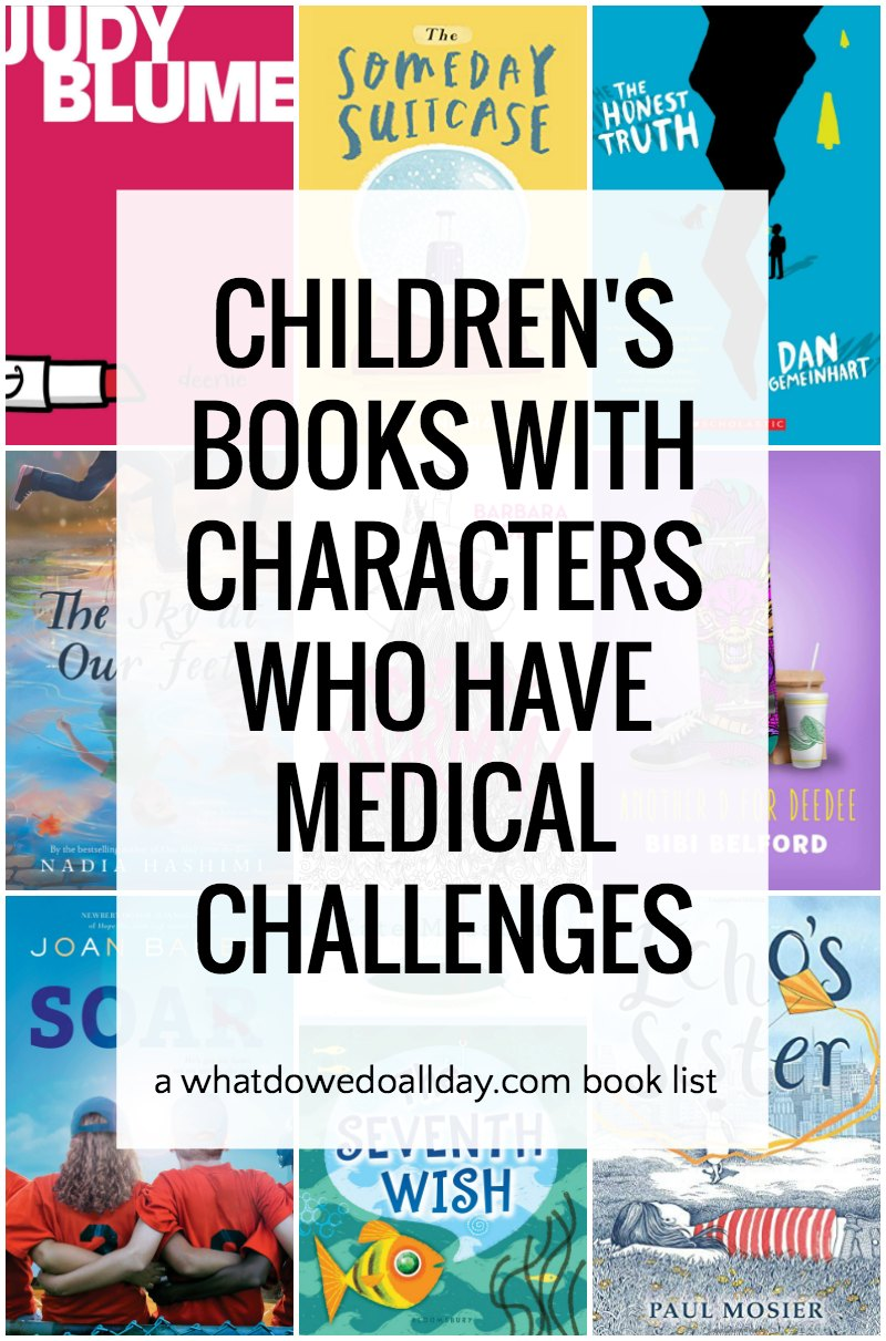 List of kids books that feature children with medical conditions including cancer, epilepsy and autoimmune diseases