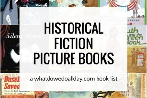 Historical fiction picture books for kids first grade through fifth grade