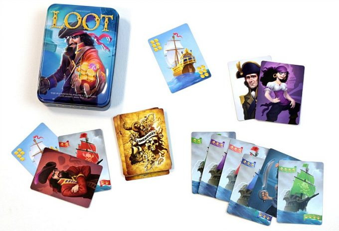 Loot pirate card game from Gamewright is a fun family game