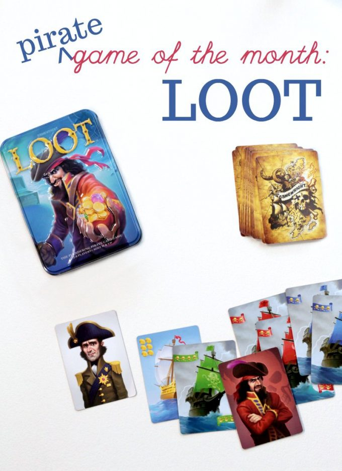 Loot card game is a fun family game
