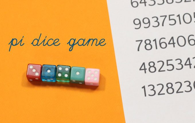How to play pi dice game
