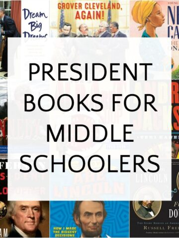 List of nonfiction president books for middle school