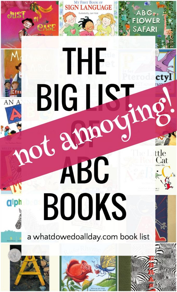 List of the best abc books for kids