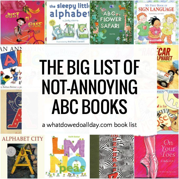 List of good ABC books for children