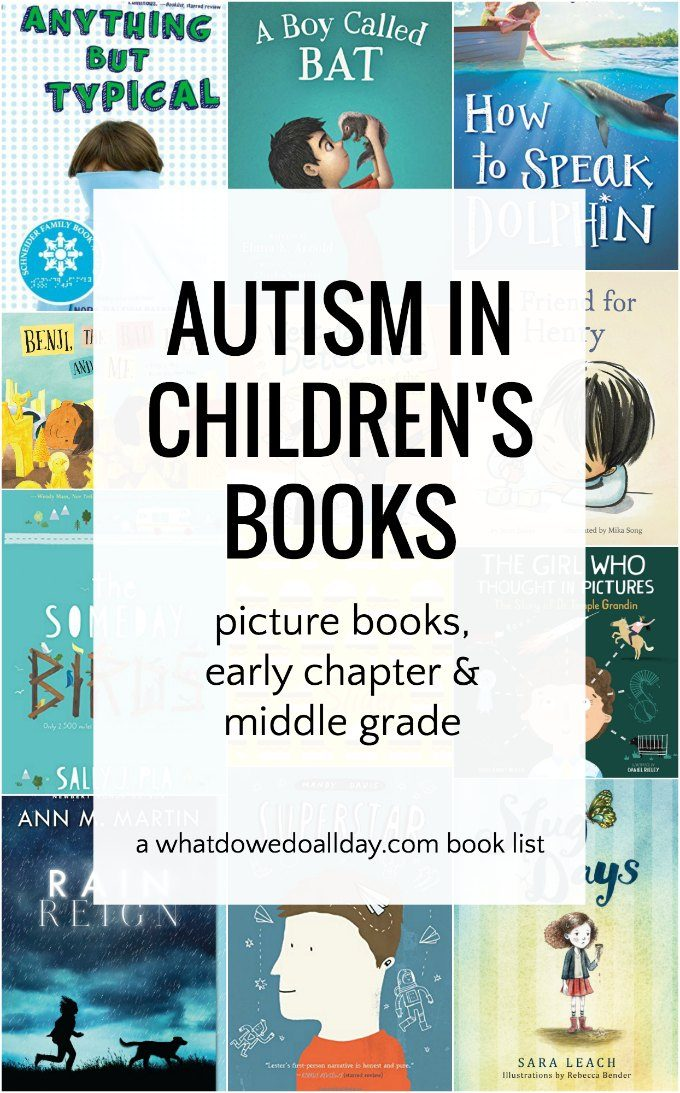 Autism in children's picture and chapter books