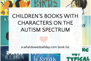 Children's books with characters on the autism spectrum
