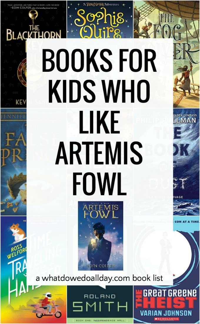 Books to read if you like Artemis Fowl