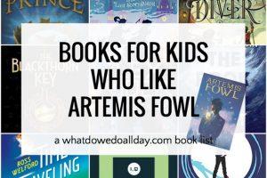 Artemis Fowl Read Alike books