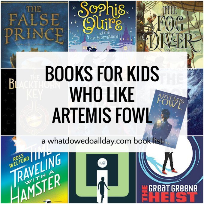 Artemis Fowl Read Alike books