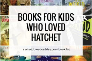 List of books similar to Hatchet by Gary Paulsen