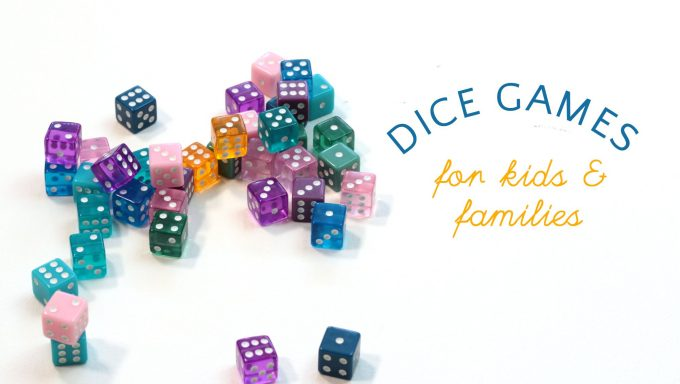 Easy dice games for kids