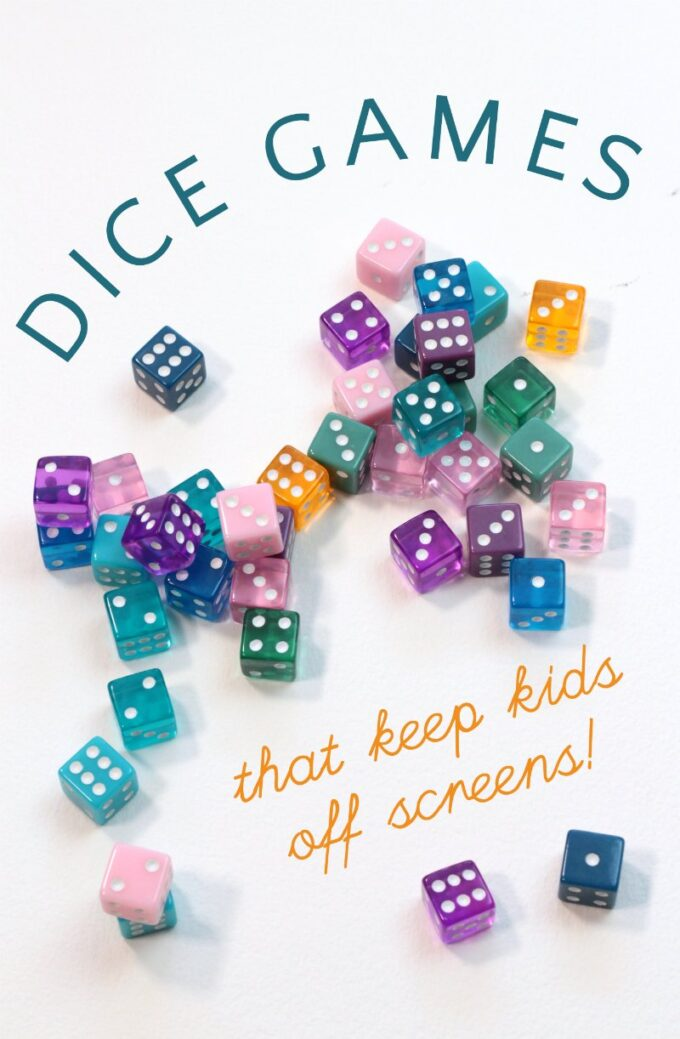 Simple dice games for families and kids.