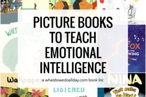 Picture books to teach emotional intelligence to children