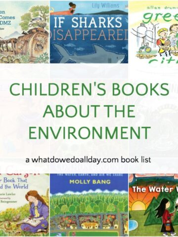 A list of children's books about the environment