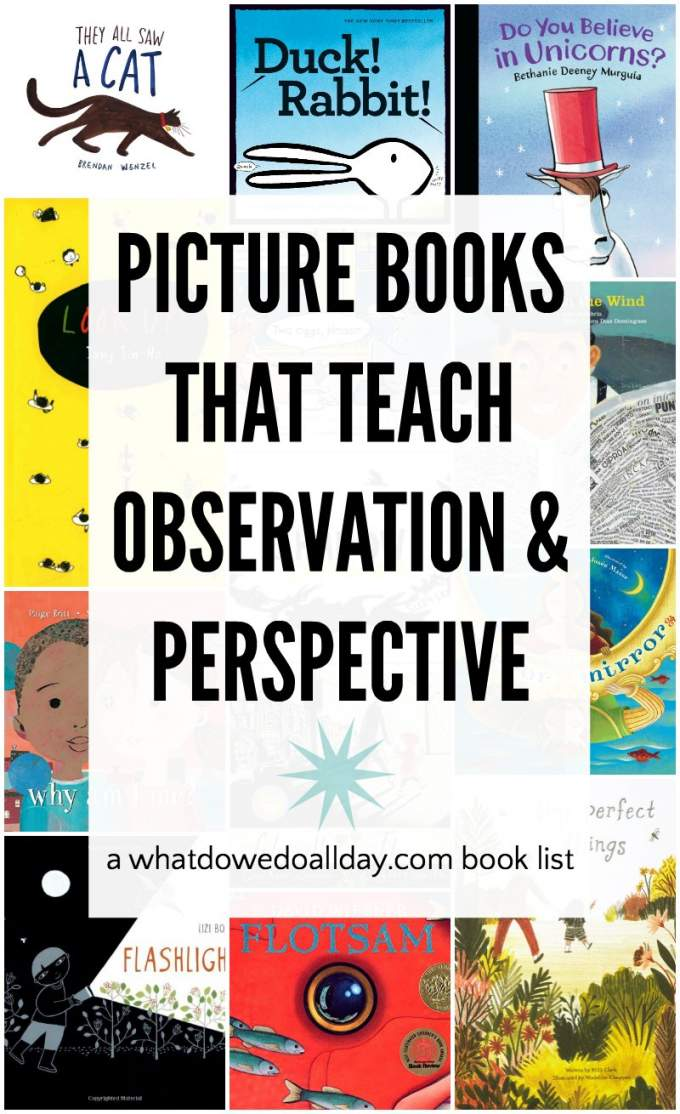 List of Children's books about perspective and observation