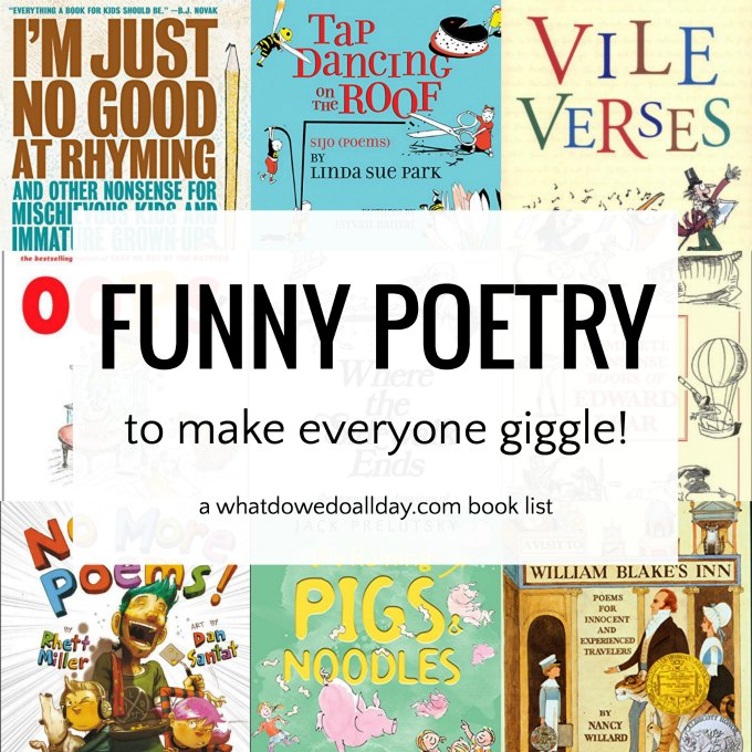 Funny Poems For Kids Giggle Snort And Chuckle