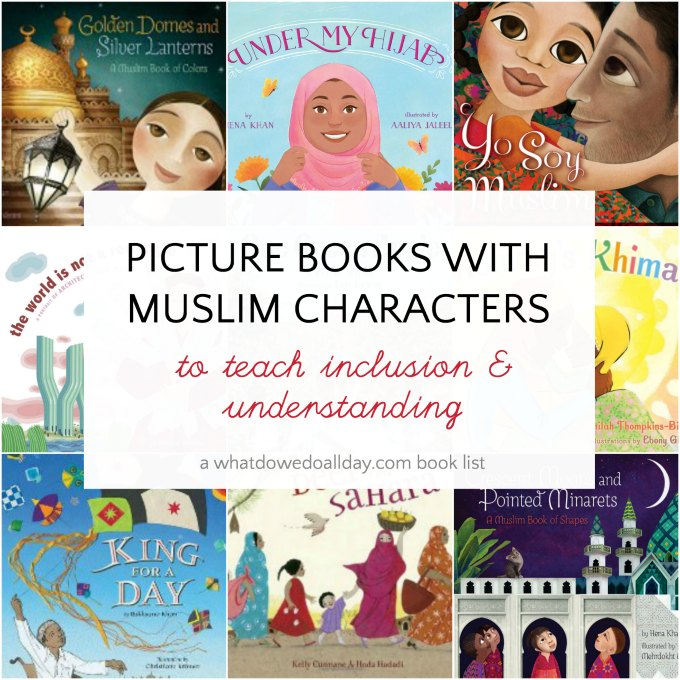 Muslims represented in children's picture books