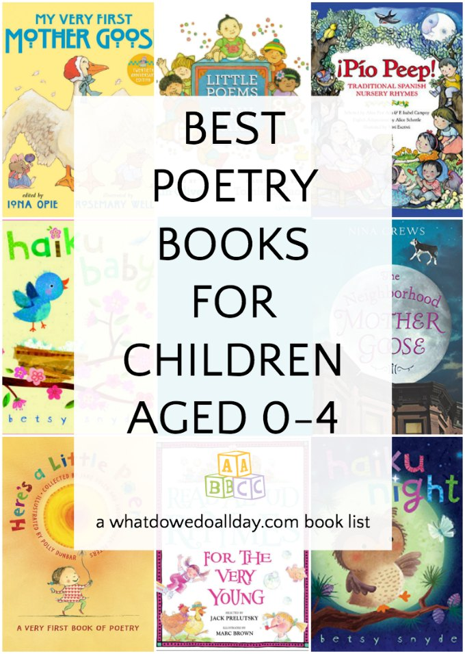 Poetry books for babies and toddlers