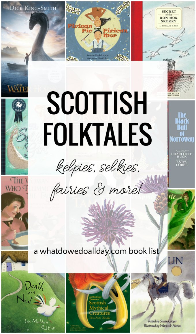 Scottish mythology and legends featuring mythical creatures and fairies