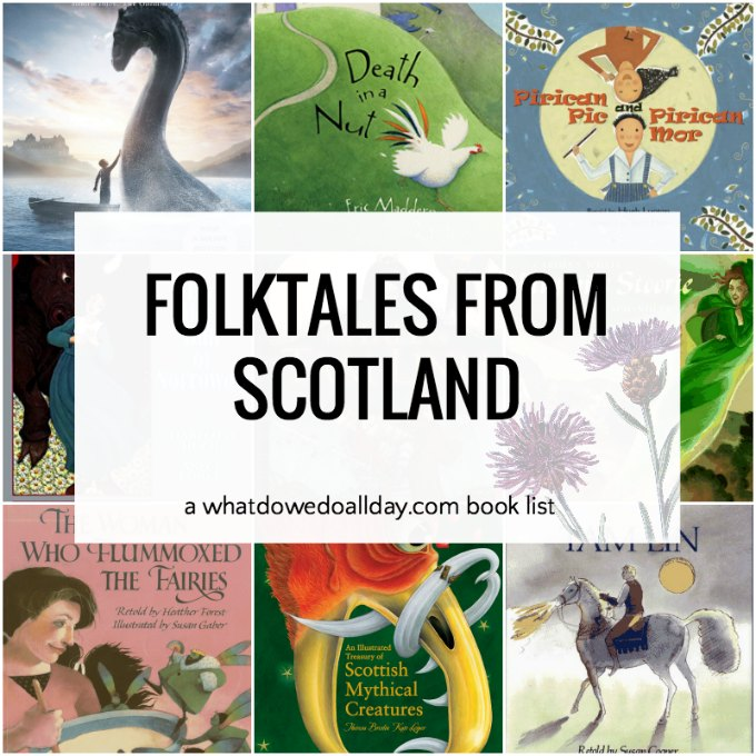 Picture books for kids about Scottish folktales
