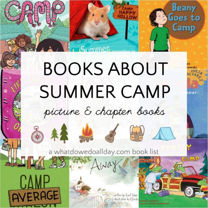 Children's books about summer camp