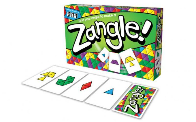 Zangle card game from Set Enterprises