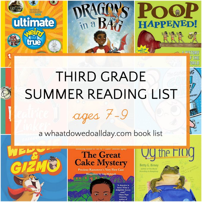 Leisurely Summer Reading Childs Play >> The Best 3rd Grade Summer Reading List Ages 7 9
