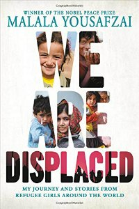 We Are Displaced by Malala Yousafzai book cover