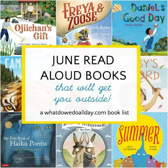 Read aloud books for June