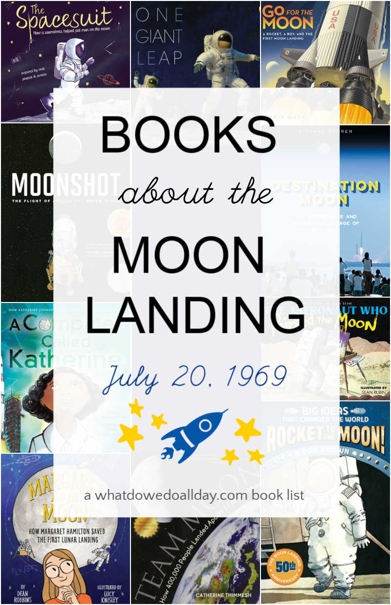 Learn about Apollo 11 with children's picture books