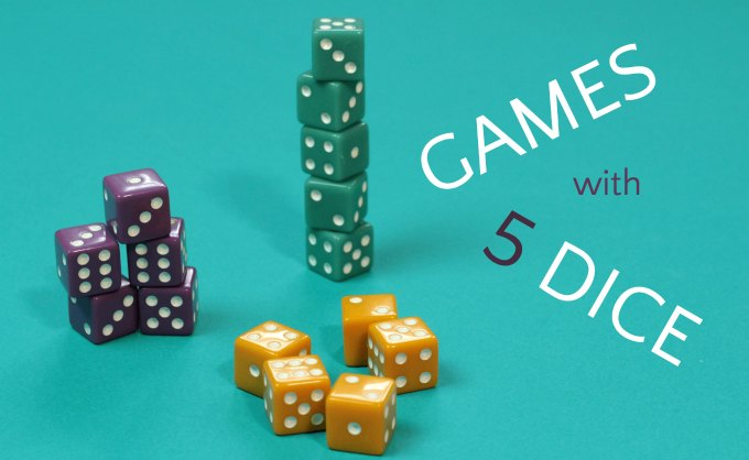 Dice Games with 5 Dice: Five Times the Fun!