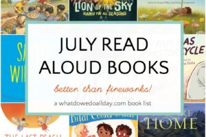 Children's books to read aloud in July