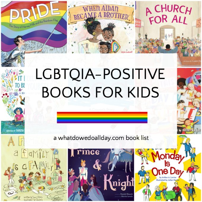 LGBTQ children's books for kids