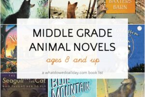 Animal books for kids ages 8 and up