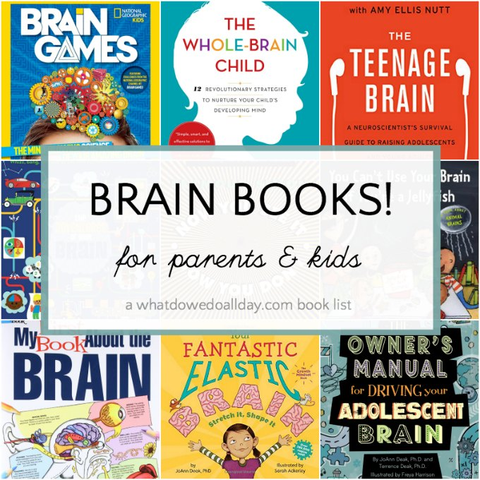 Books about the brain for kids and parents