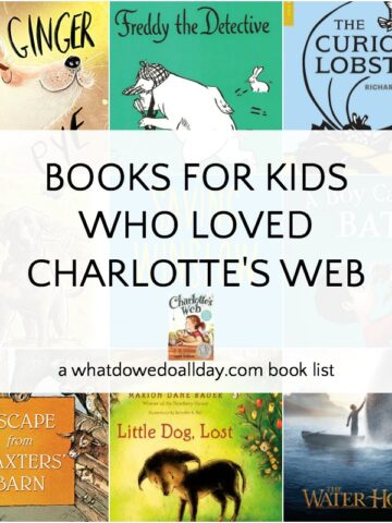 List of books for kids who liked Charlotte's Web