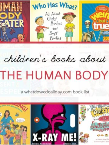 Children's books about the human body, puberty and body safety