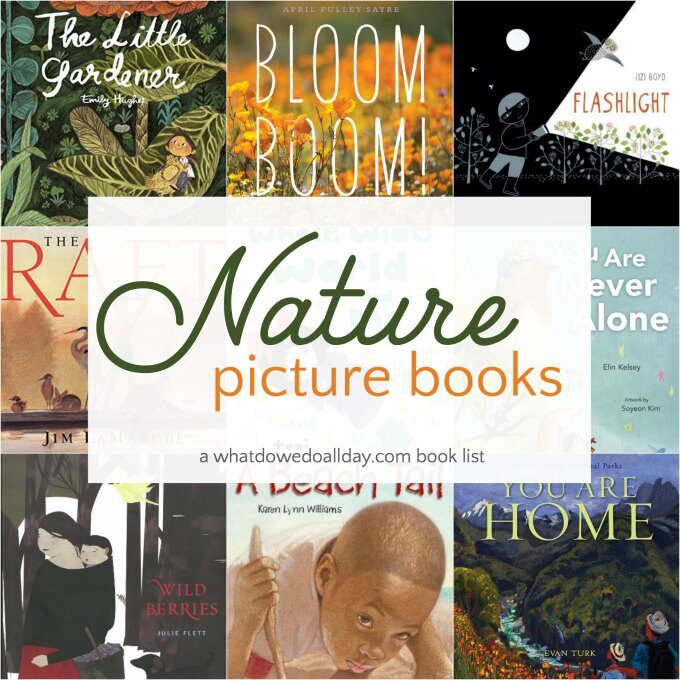 Nature picture books for kids