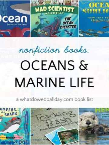 Children's books about oceans and ocean animals