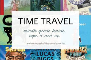 Time travel books for kids ages 8-14