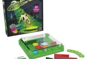 Invasion of the Cow Snatchers box and game pieces